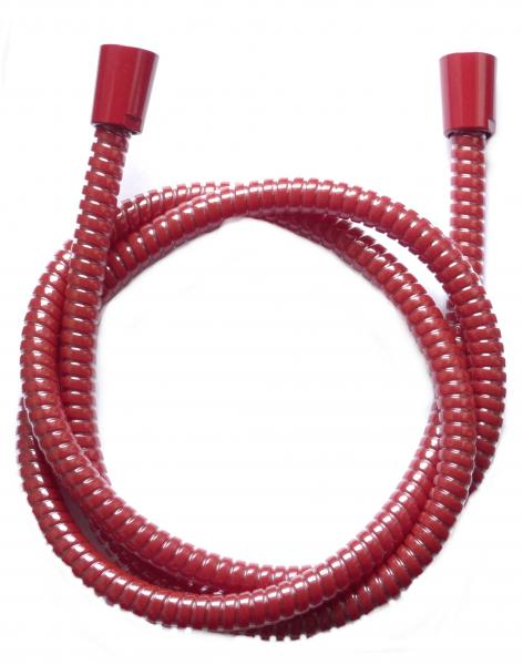 Brauseschlauch Duschlauch 1,25 m rot Z 25A